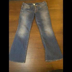 Silver Aika Bootcut Jeans - 32